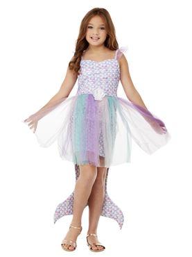 Child Seashell Mermaid Costume