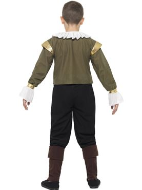 Child Shakespeare Costume - Side View