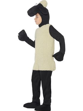 Child Shaun the Sheep Costume - Back View