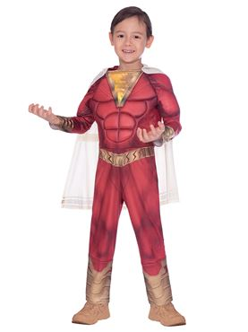 Child Shazam! Costume - Back View