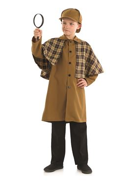 Child Sherlock Holmes Costume - Back View