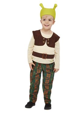 Child Shrek Costume - Back View
