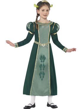 Child Shrek Princess Fiona Costume