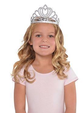 Child Silver Princess Tiara