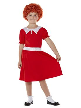 Child Singing Orphan Costume - Back View