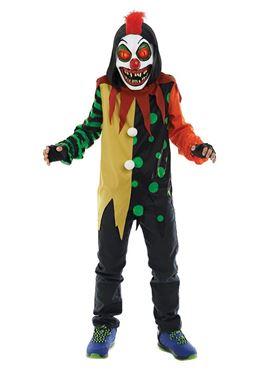 Child Sinister Clown Costume