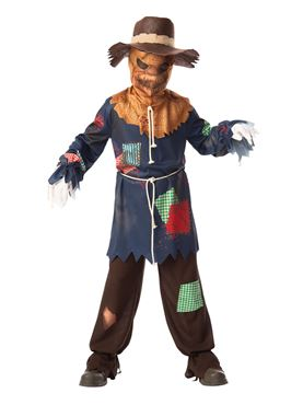 Child Sinister Scarecrow Costume