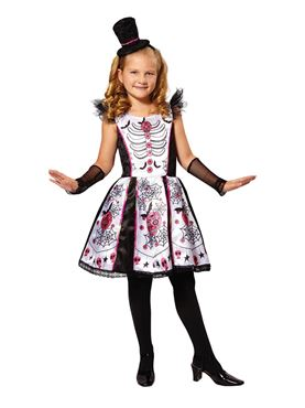 Child Skeleton Beauty Costume