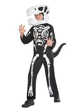 Child Skeleton Dinosaur Costume
