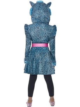 Child Leopard Cutie Costume - Side View