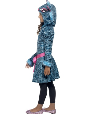 Child Leopard Cutie Costume - Back View