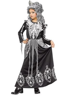 Child Skeleton Queen Costume