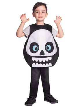 Child Skeleton Tabard Costume