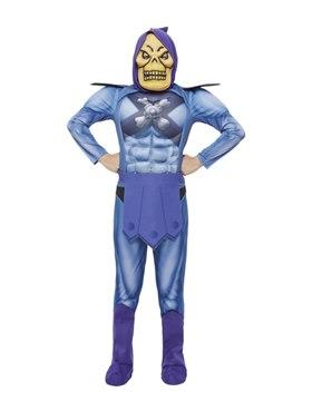 Child Skeletor Costume with EVA Chest