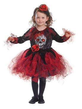 Child Skull Tutu Costume