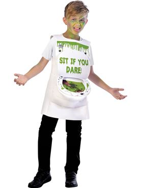 Child Slimy Toilet Costume