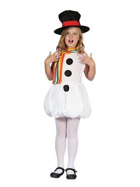 Child Snow Girl Costume