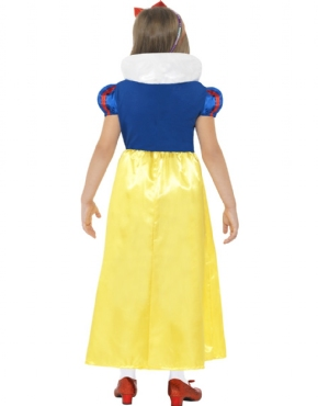 Child Snow Princess Costume - Side View