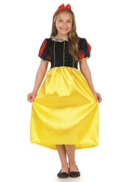 Child Fairytale Princess Snow Costume