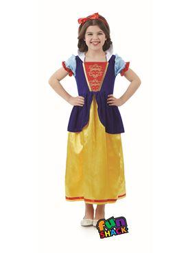 Child Snow White Costume - Back View