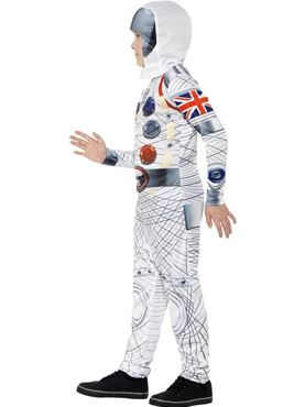 Child Spaceman Costume - Back View