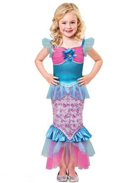 Child Sparkle of the Sea Costume