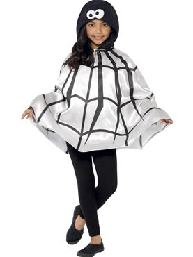 Child Spider Cape Costume