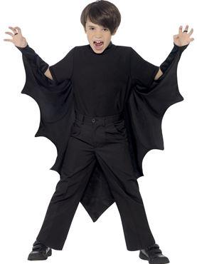 Child Vampire Bat Wings - Back View