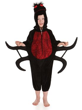 Child Spider Costume - Back View