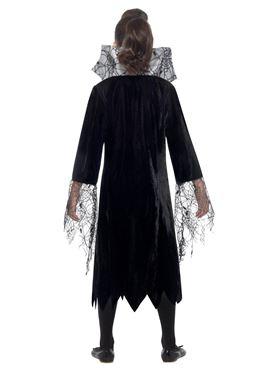 Child Spider Vampire Costume - Side View