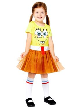 Child SpongeBob SquarePants Dress Costume Couples Costume