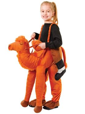 Child Step In Camel Costume
