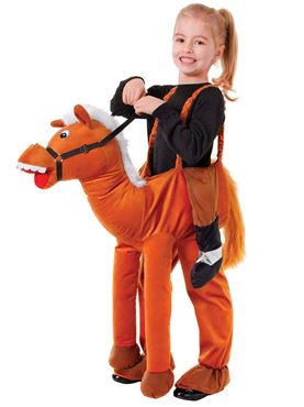Child Step In Horse Costume