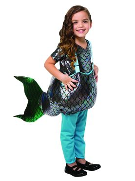 Child Step-in Mermaid Costume