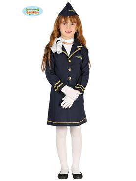 Child Stewardess Costume Couples Costume