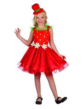Child Strawberry Kiss Costume