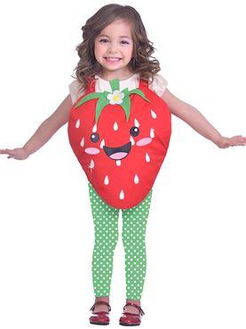 Child Strawberry Sweetie Costume