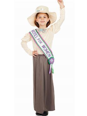 Child Suffragette Costume