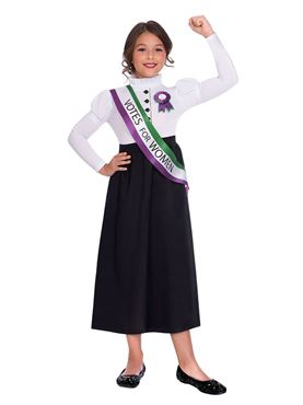 Child Suffragette Girl Costume