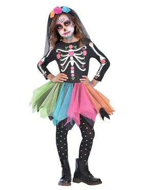83880af4b6b Child Sugar Skull Costume - 9903421 - Fancy Dress Ball