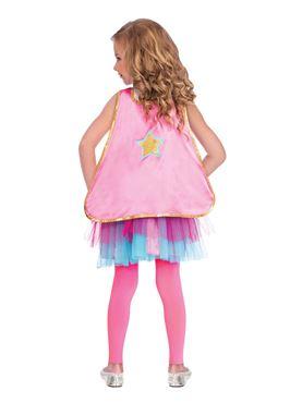 Child Super Hero Tutu Costume - Back View