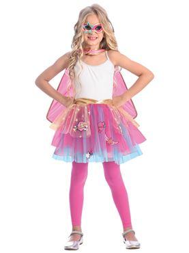 Child Super Hero Tutu Costume