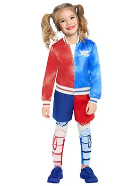 Child Superhero Harley Quinn Costume