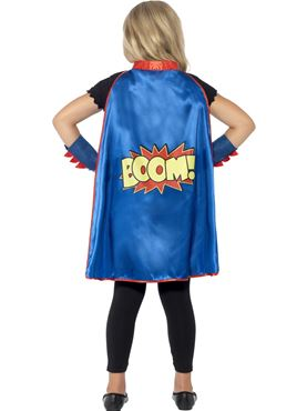 Child Superhero Instant Kit - Back View