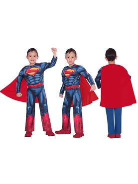 Child Superman Classic Costume - Side View
