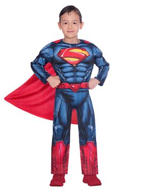 Child Superman Classic Costume Couples Costume