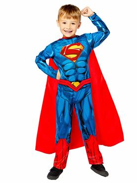 Child Superman Sustainable Costume