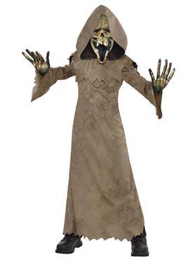 Child Swamp Zombie Costume
