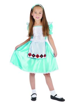 Child Sweetie Girl Costume - Back View