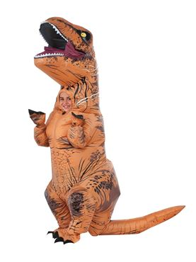 Child T Rex Inflatable Costume Couples Costume